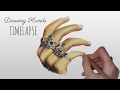 Timelapse: Drawing Hands & Rings