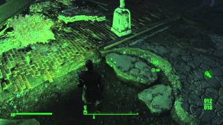 "Fallout 4 - Concord City Intro ""Drinking Water"" Details. 3rd Person Pipe Pistol Raider Gameplay PS4"