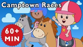 Camptown Races and More | Nursery Rhymes from Mother Goose Club!