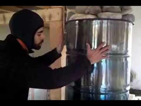 La stufa rocket rocket stove spiegata da jos azienda for Stufa rocket