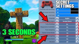 How To *Literally* Be Faster On Console Fortnite | Console *Secret* Hacks & Tricks