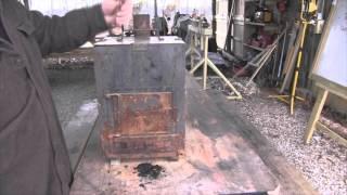 Restoring A Scrap Yard Wood Stove