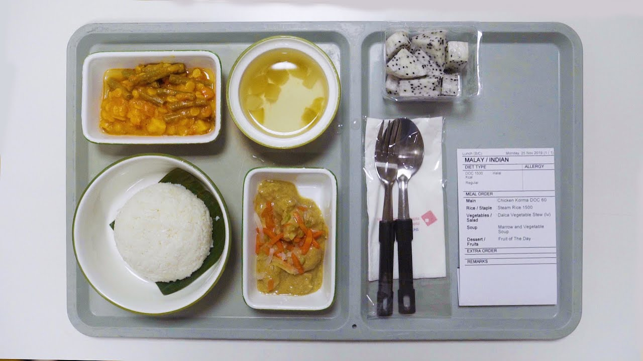 How A Hospital Kitchen Makes 3000 Meals A Day