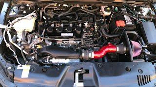 2020 Honda Civic SI K&N Short Air Intake