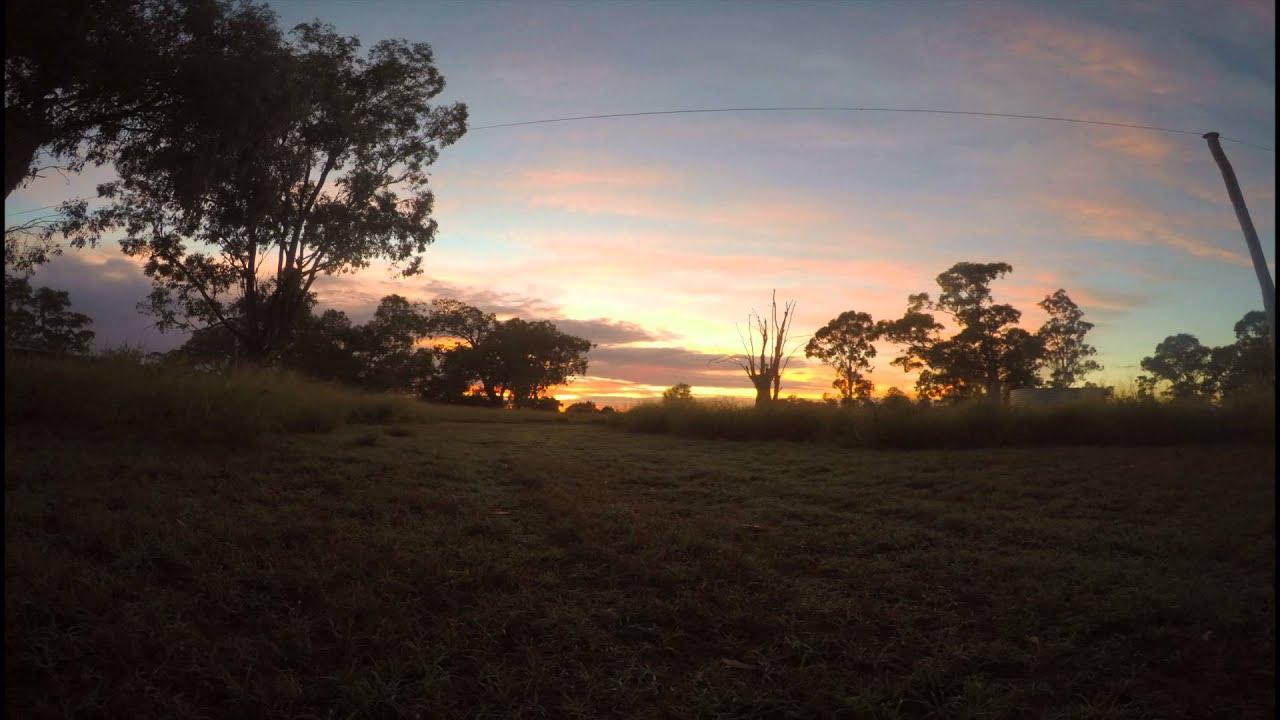 Chinchilla Australia  city pictures gallery : GoPro Hero 4 Sunrise Time Lapse: Chinchilla Australia YouTube