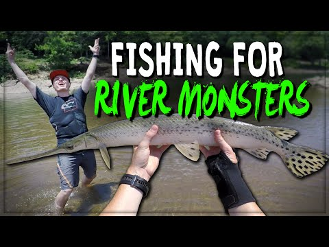 FISHING FOR RIVER MONSTERS! #2 | DALLMYD