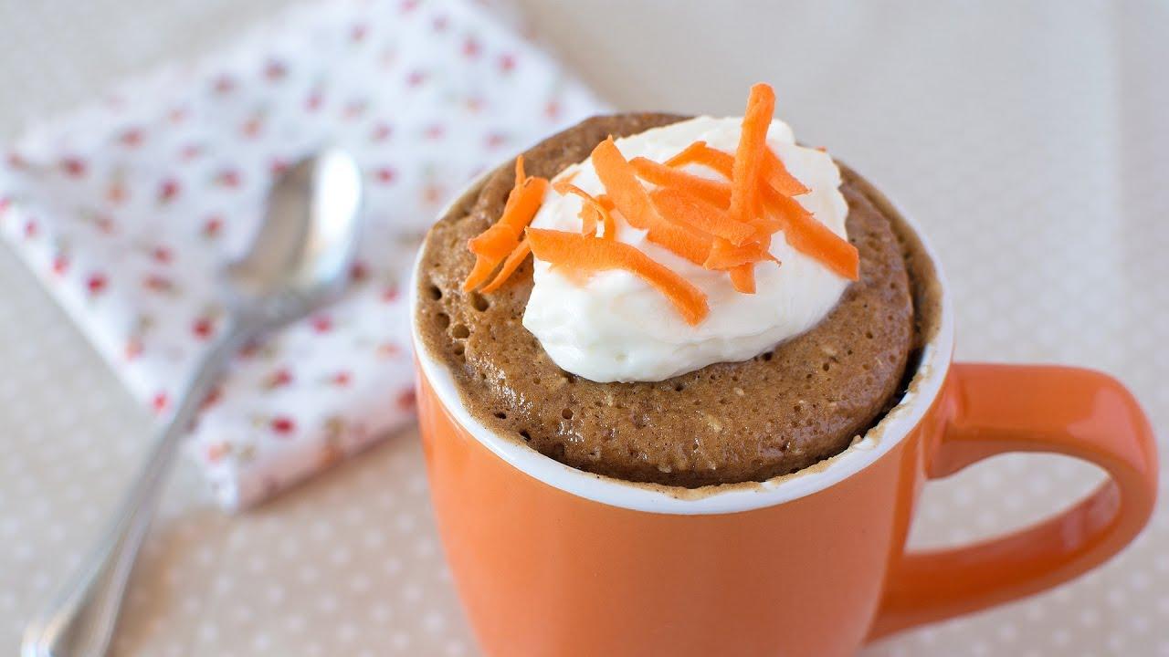 Carrot Cake in a Mug - How to Make a Quick & Easy Mug Cake ...