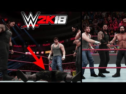 WWE 2K18: What Happens When The Shield Joins WWE Universe Mode?