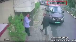 أول فيديو يظهر تهريب رفات جمال خاشقجي من القنصلية السعودية   وحرس محمد بن سلمان قتله في ساعتين