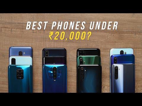 The Best Phones Under ₹20,000!
