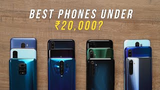 The Best Phones Under ₹20,000!