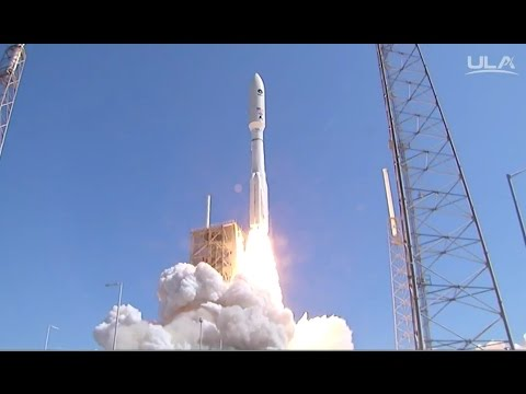Most Powerful Atlas V lifts off with MUOS 5 Military Communications Satellite