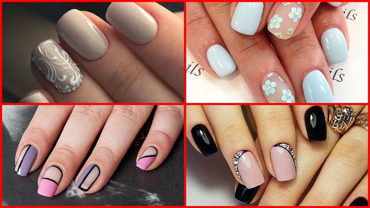 Some Classic Nail Art Designs Youtube