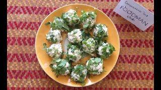 Закуска из творога с зеленью: рецепт от Foodman.club