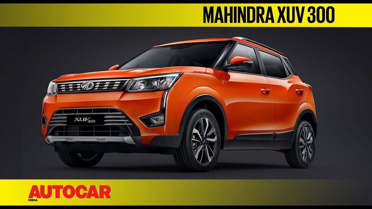 Mahindra Xuv300 Compact Suv First Look Preview Autocar India