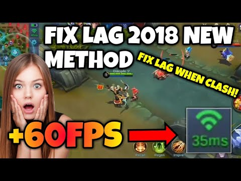 How to FIX LAG in MOBILE LEGENDS 2018 and increase FPS