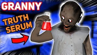 Granny Uses A TRUTH SERUM ON JIMOTHY!!! (He Says Everything) | Granny The Mobile Horror Game (Story)