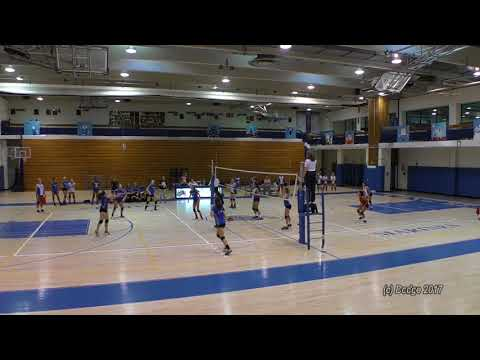 Herricks HS vs Long Beach HS Girls Varsity Volleyball 09/26/17
