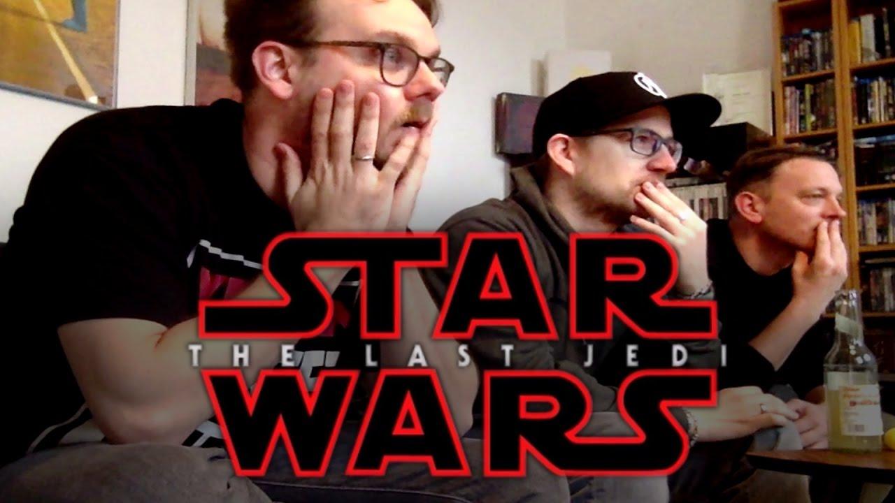 Download STAR WARS: THE LAST JEDI Trailer Reaction |  Rocket Beans Reaction Video