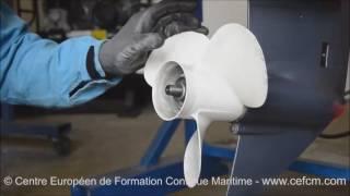 CEFCM - Changement hélice moteur hors bord