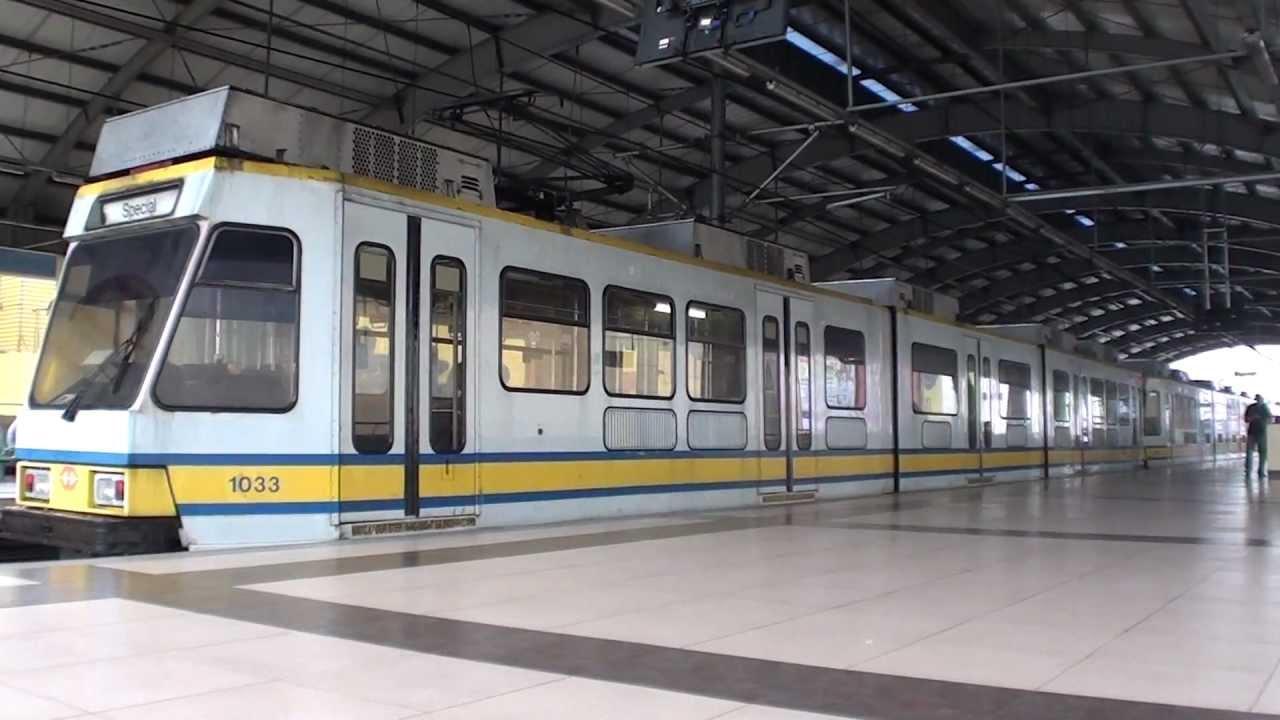 マニラLRT1号線 1G-Train Roosev...
