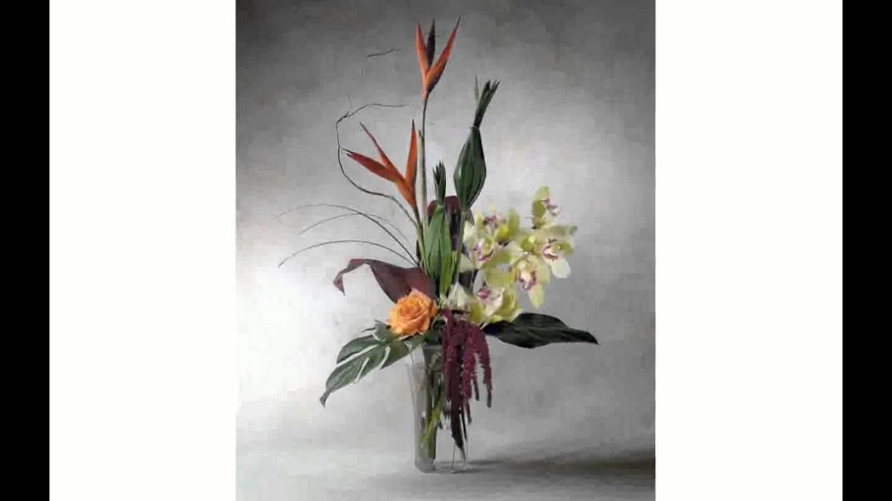 Contemporary flower arrangements youtube contemporary flower arrangements floridaeventfo Choice Image