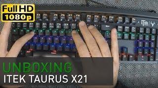 Unboxing e recensione della nuova tastiera gaming di Itek: la Tauru...