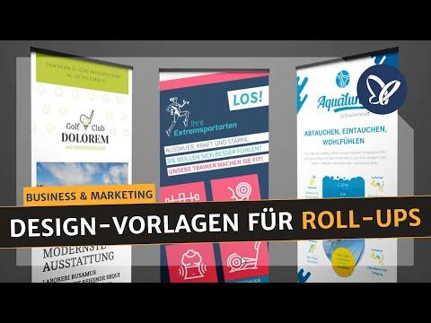 InDesign-Tutorial: Druckfertige Design Vorlagen für Roll-Ups die auffallen!