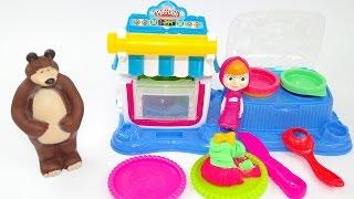 Masha e Orso Episodio Italiano completo! Masha e il fornetto per dolci Play doh