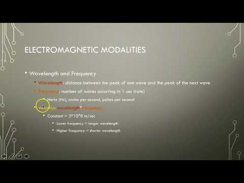 Electrotherapy 1 Intro to Electricity