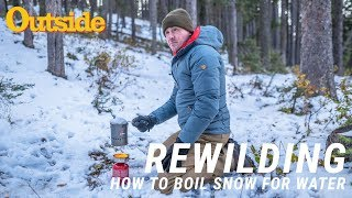 How to Boil Snow for Drinking Water | Outside