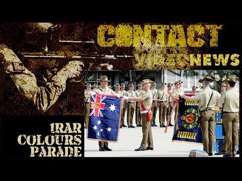 1RAR Colours Parade for Coral Balmoral 50th