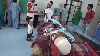 إصابة طفلين بقصف مدفعي شنته مليشيات الحوثي على منازل المواطنين في التحيتا