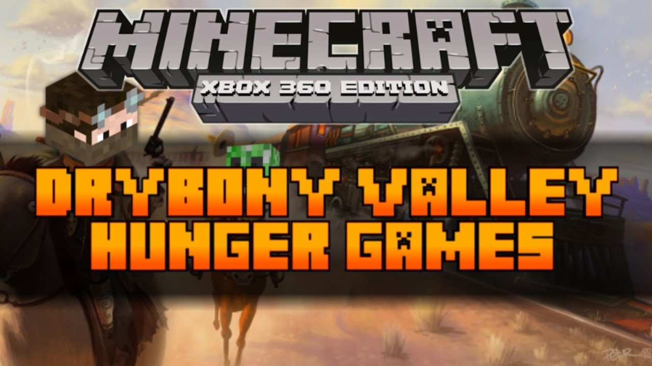 Xbox 360 Hunger Games : Minecraft xbox the hunger games map drybony valley