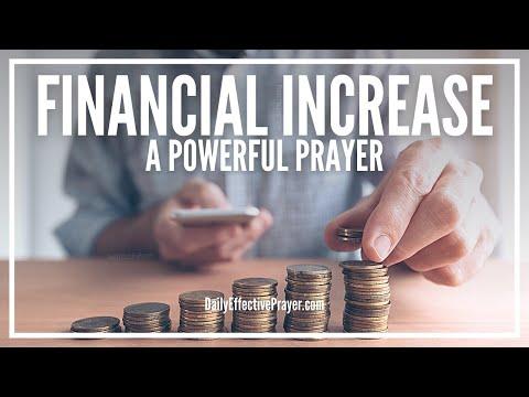Prayer For Financial Increase - Financial Increase Prayer
