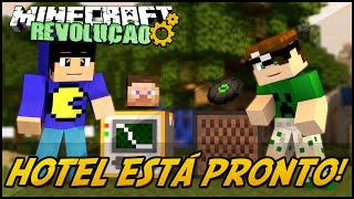 Minecraft: A REVOLUÇÃO - HOTEL ESTÁ PRONTO! #75