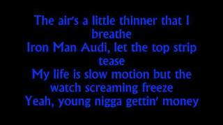 Finally Famous / Big Sean -100 keys Feat. Rick Ross &Pusha T Lyrics-HD quality