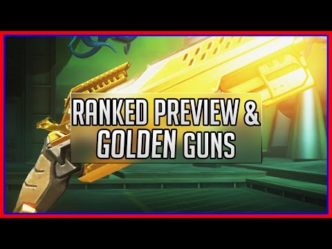 Overwatch Guide | Ranked Play And Golden Guns