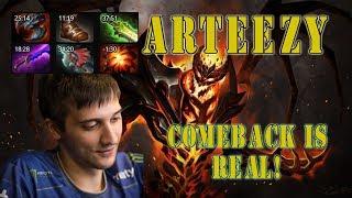 Arteezy Shadow Fiend 9kmmr - comeback is real![2140p]