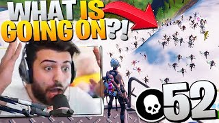 100 Streamsnipers SECRETLY Joined My PRO SCRIM! (I Had No Idea!) - Fortnite Battle Royale