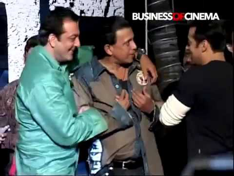 Salman Khan has fun with Mithun Chakraborty Sanjay Dutt medi