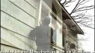Installing Vinyl Windows with Shake Siding