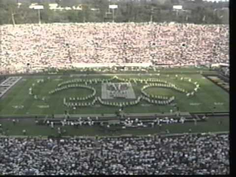 Michigan Marching Band: 1998 Rose Bowl Halftime