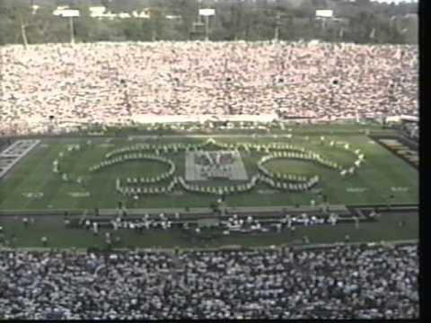 Michigan Marching Band: 1998 Rose Bowl Halftime
