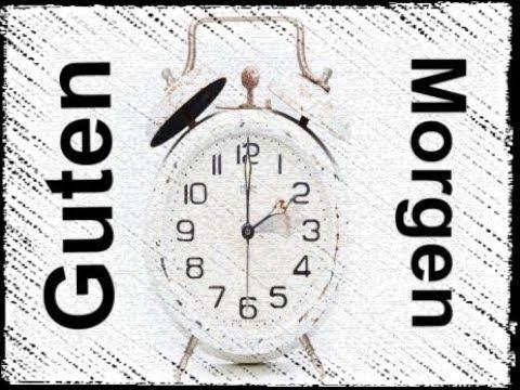 Guten Morgen Wecker Review Deutsch German