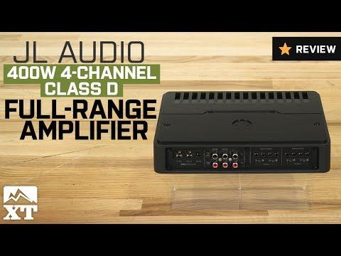 Jeep Wrangler JL Audio 400W 4-Channel Class D Full-Range Amplifier (1987-2017 YJ, TJ, JK) Review