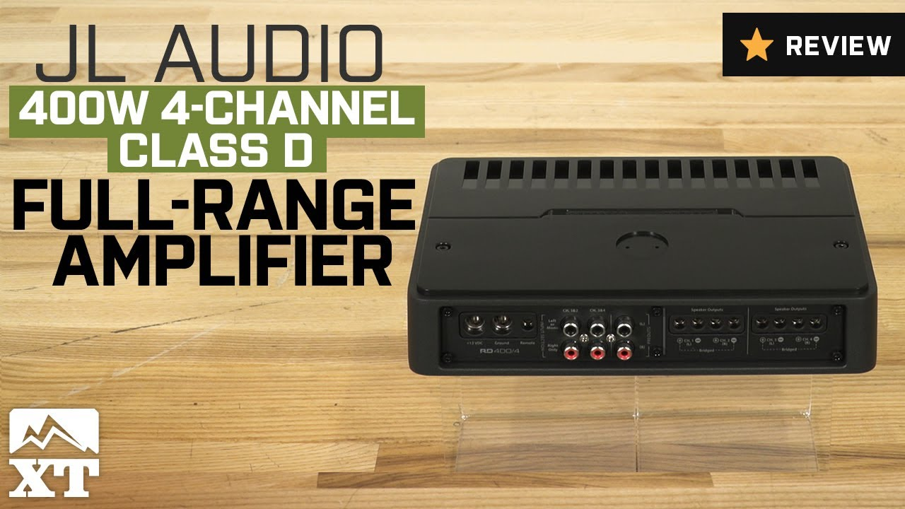 Jeep Wrangler Jl Audio 400w 4 Channel Cld Full Range Amplifier 1987 2017 Yj Tj Jk Review