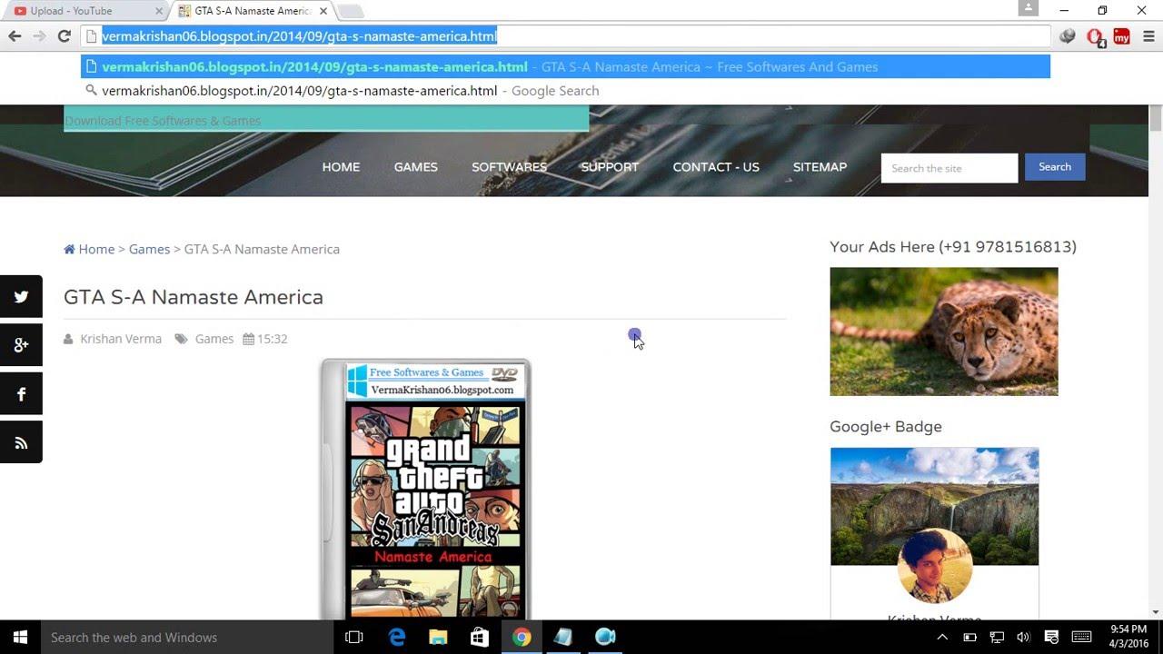 gta namaste america free download for windows 7