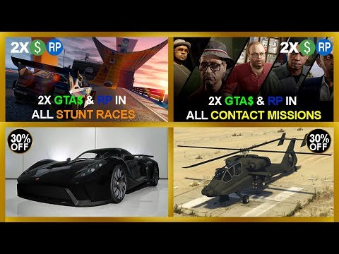 NEW ONLINE EVENT | 2X GTA$ & RP IN ALL CONTACT MISSIONS | FREE MONEY FROM ROCKSTAR | & MORE