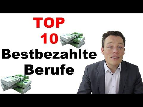 Bestbezahlte Jobs + Berufe: Die Top-10 für Deutschland von Martin Wehrle